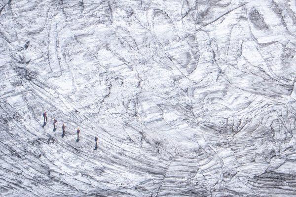 Gletscherseilschaft. Stubai | Pauli Trenkwalder, Berge & Psychologie