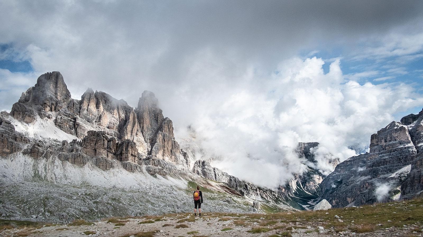 Blick nach innen. Dolomiten | Pauli Trenkwalder, Berge & Psychologie