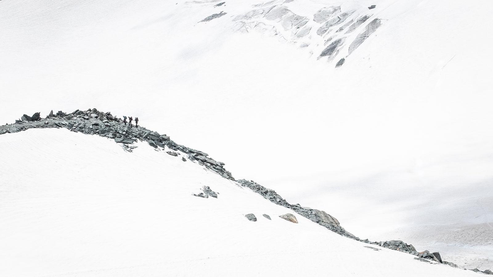 Felsinsel. Bergsteigen am Glockner | Pauli Trenkwalder, Berge & Psychologie