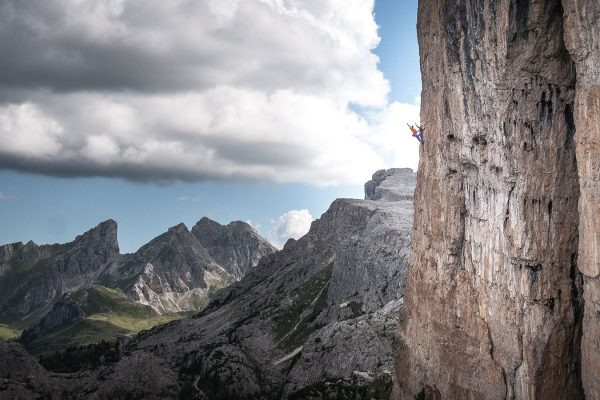 Gruß. Klettern in den Dolomiten | Pauli Trenkwalder, Berge & Psychologie