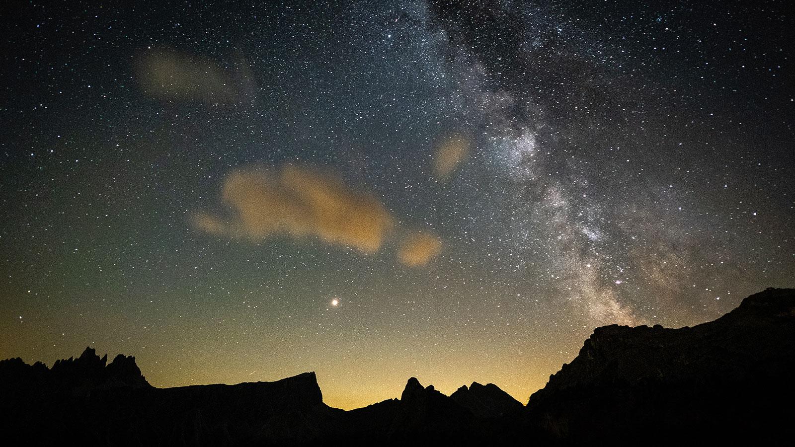 Milchstraße. Sternennacht in den Dolomiten | Pauli Trenkwalder, Berge & Psychologie