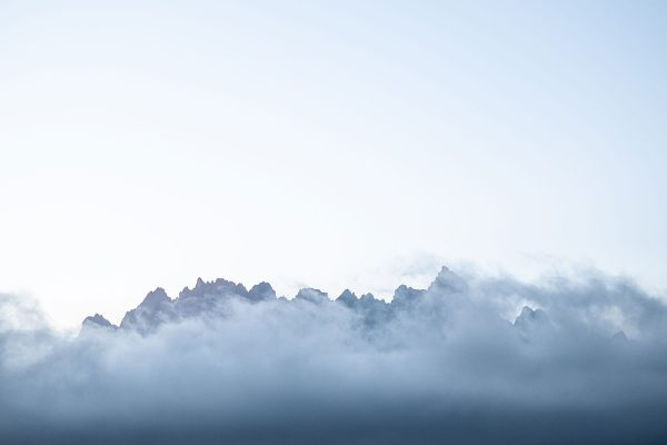 Morgennebel. Dolomiten | Pauli Trenkwalder, Berge & Psychologie