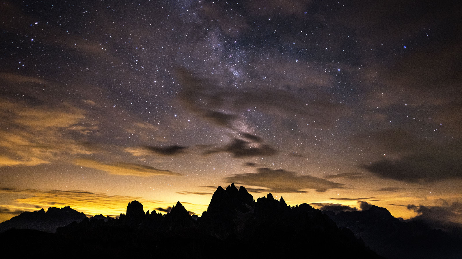 Sternennacht. Dolomiten Cadini | Pauli Trenkwalder, Berge & Psychologie