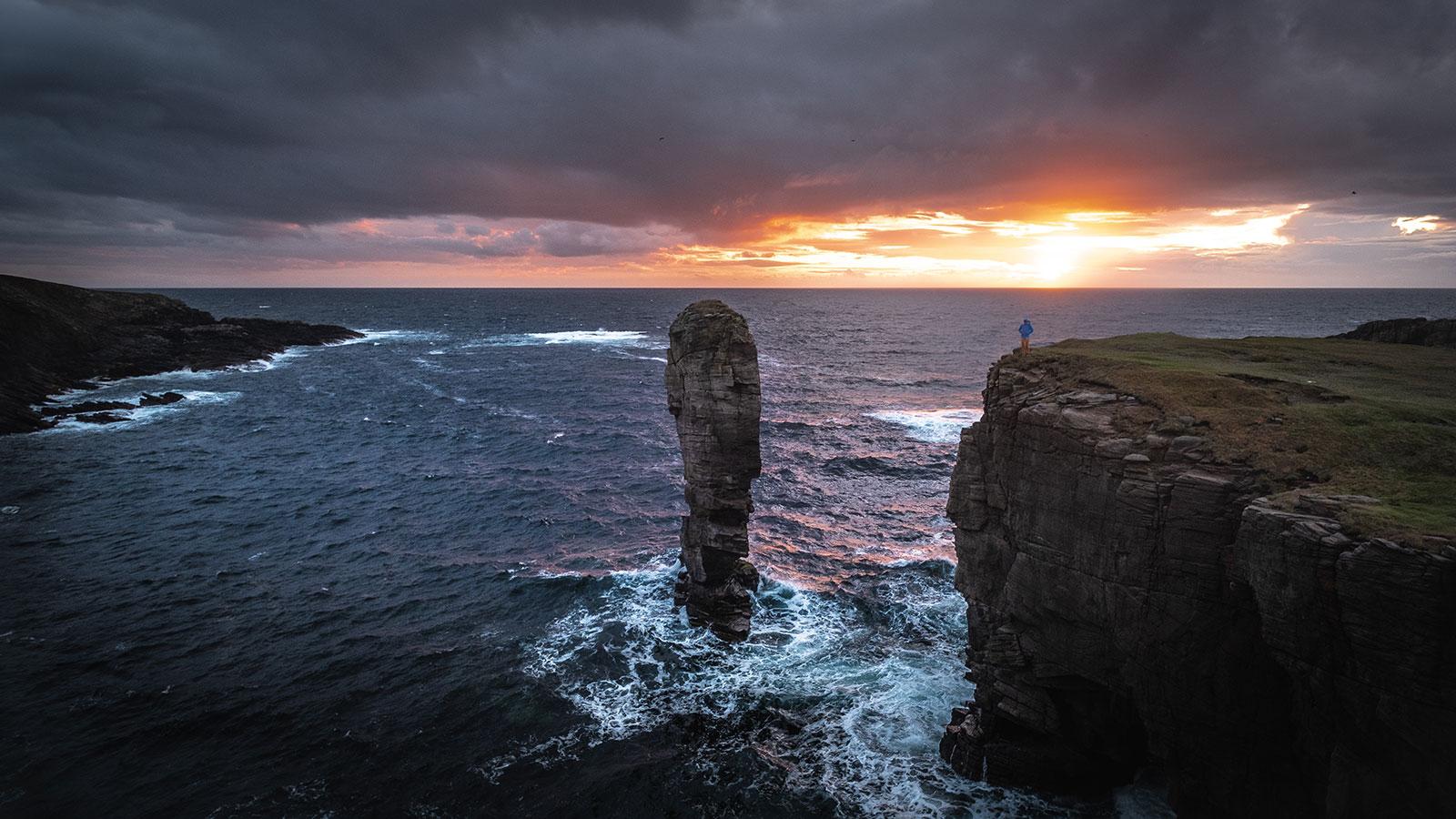 Am Rand. Klettern in Schottland | Pauli Trenkwalder, Berge & Psychologie