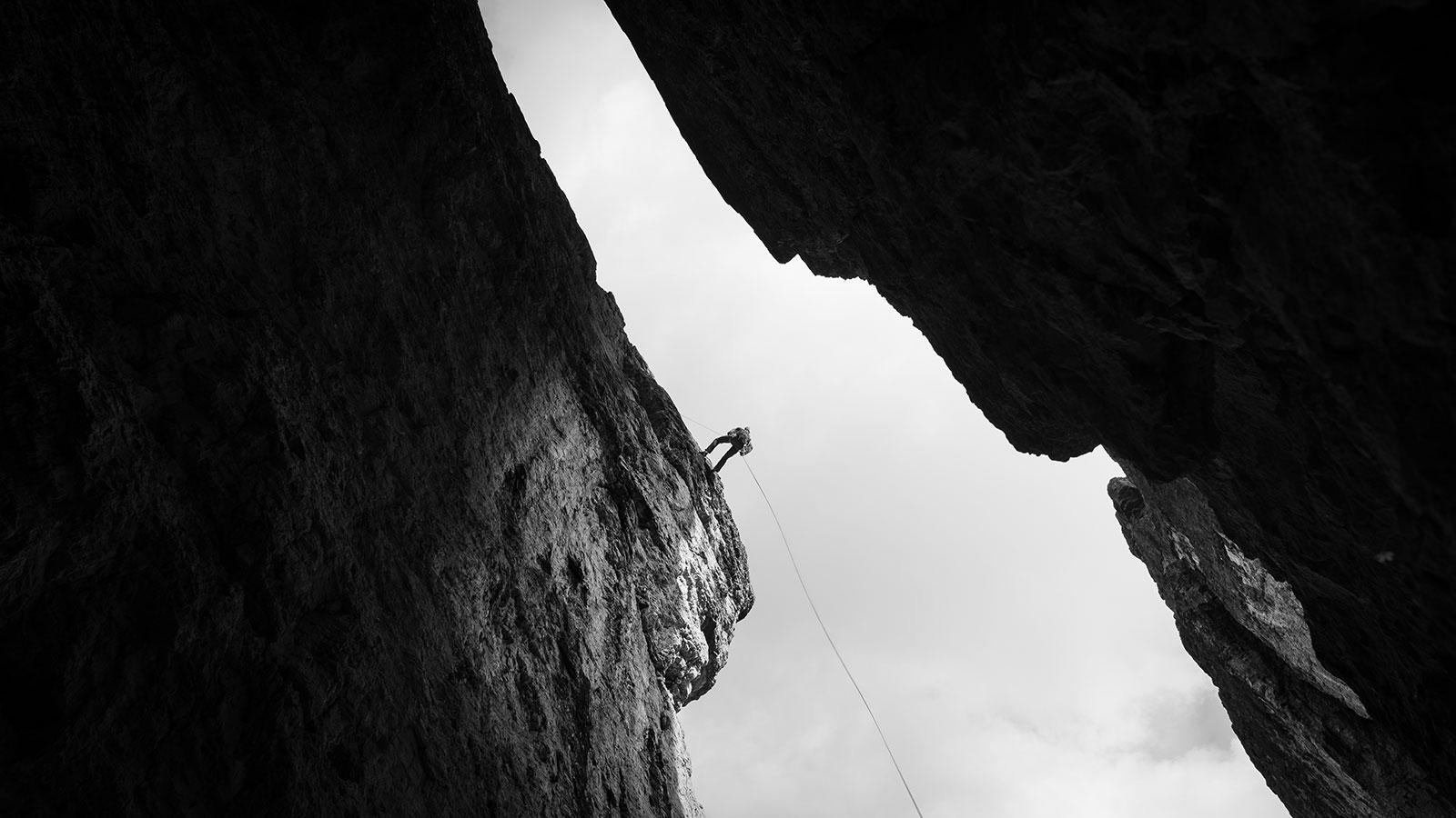 Abseilen. Klettern in den Dolomiten | Pauli Trenkwalder, Berge & Psychologie