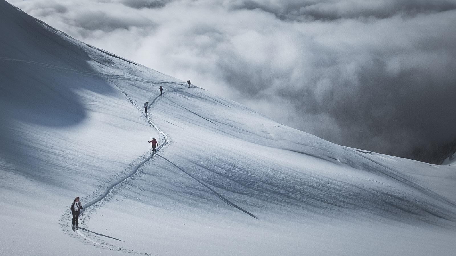 Abstand. Skitour in Südtirol | Pauli Trenkwalder, Berge & Psychologie