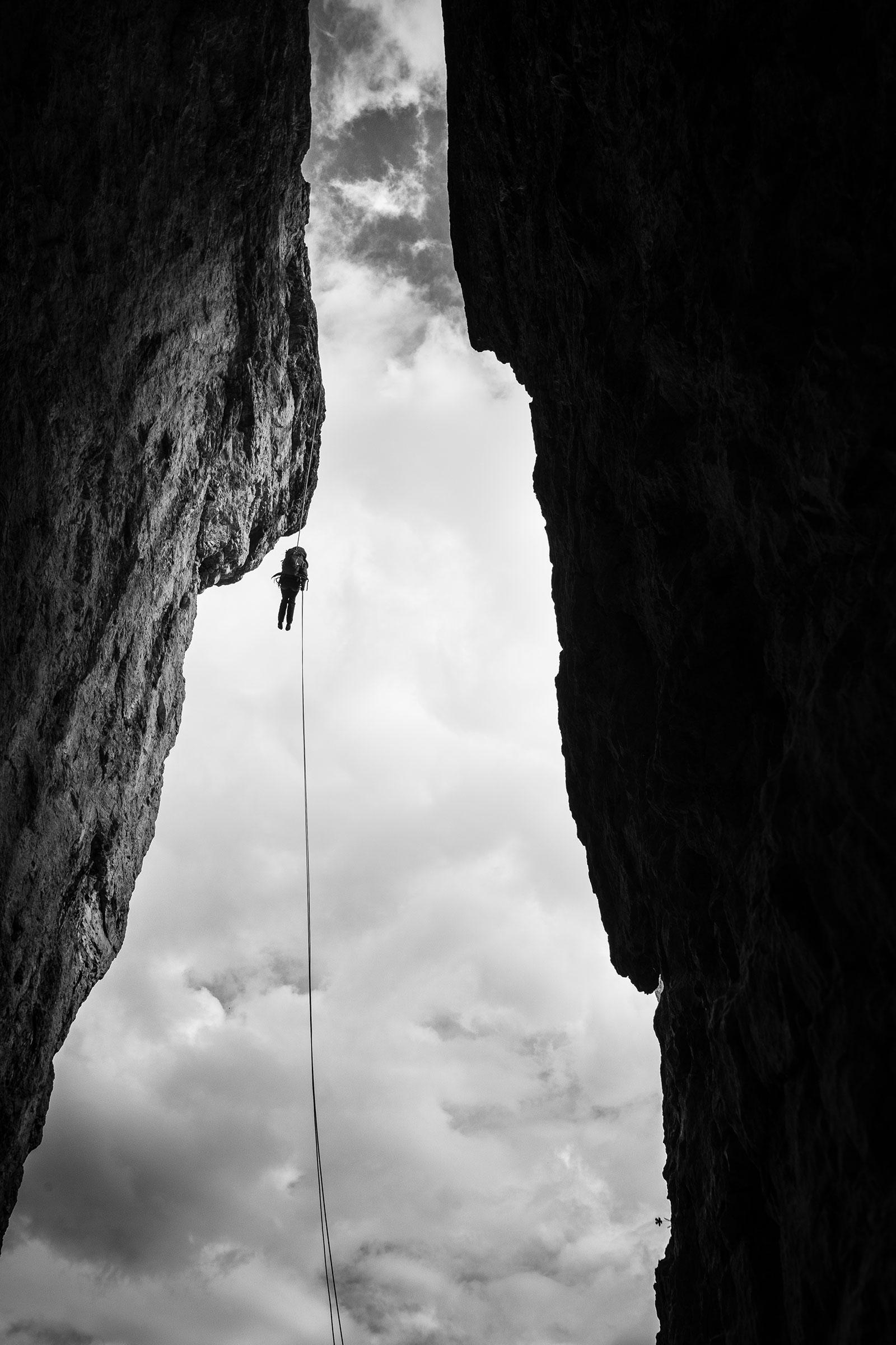 Abwärts. Klettern in den Dolomiten | Pauli Trenkwalder, Berge & Psychologie