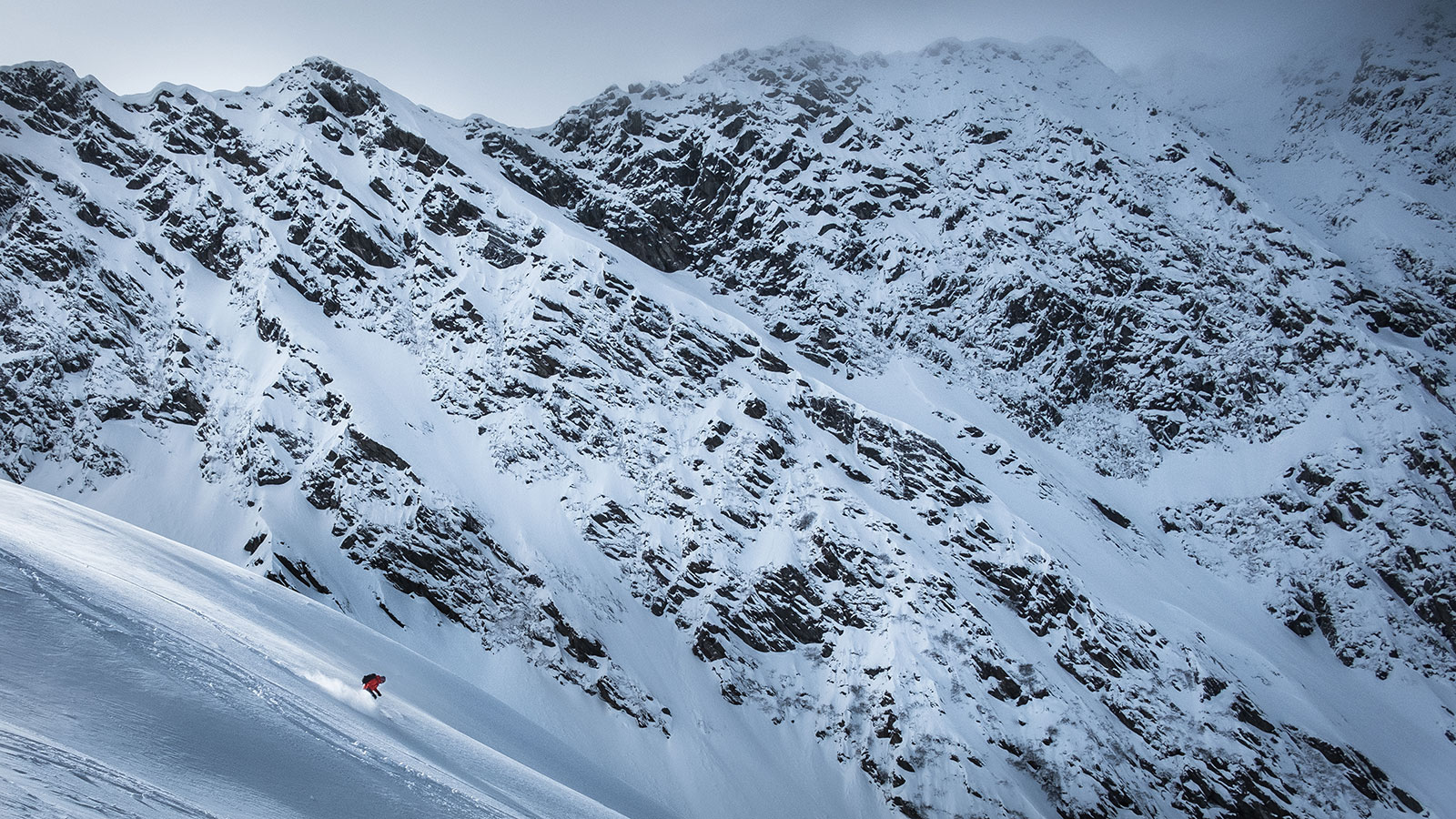 Abwärts. Skitour in Südtirol | Pauli Trenkwalder, Berge & Psychologie