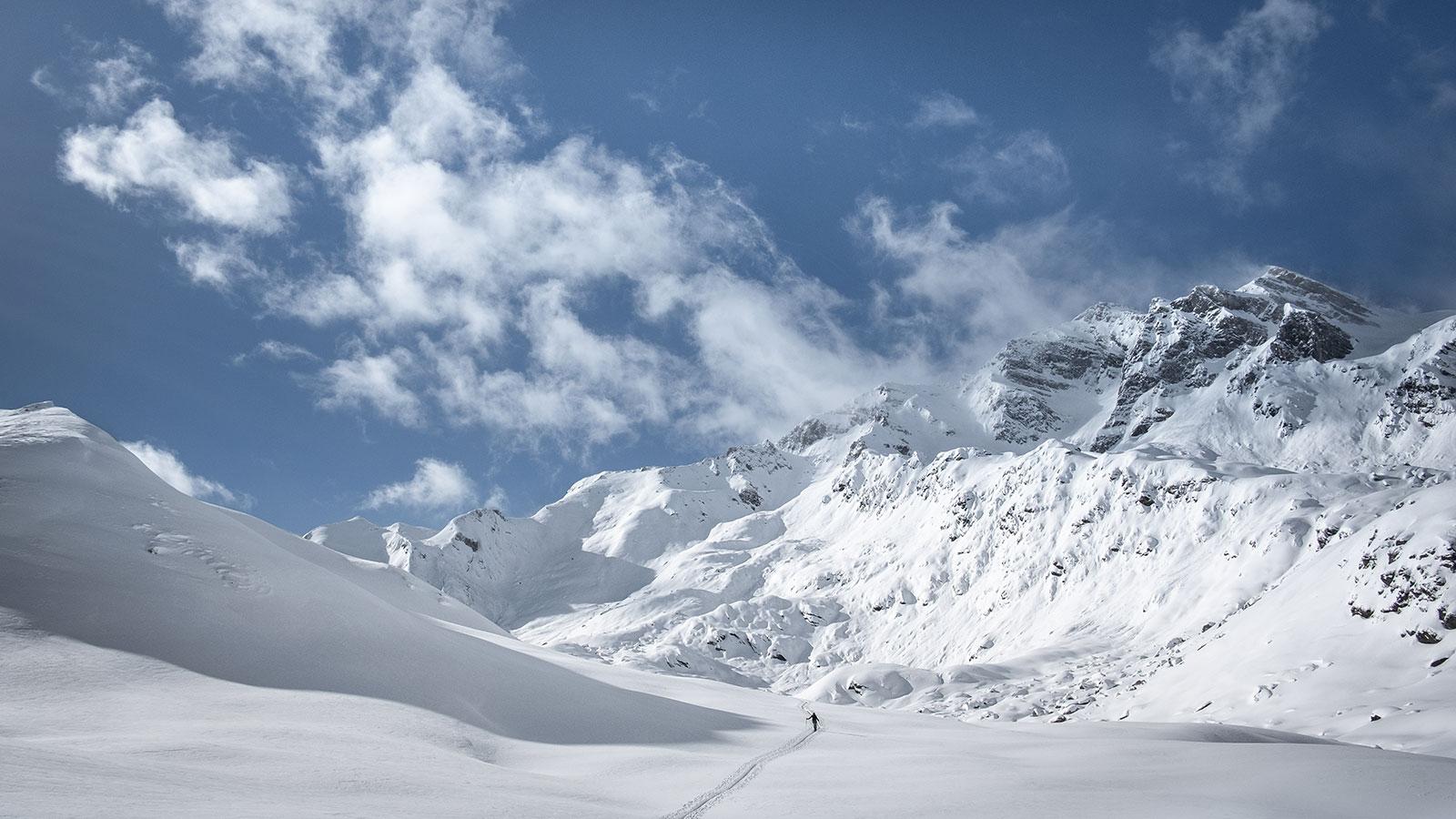 Allein. Skitour in Südtirol | Pauli Trenkwalder, Berge & Psychologie