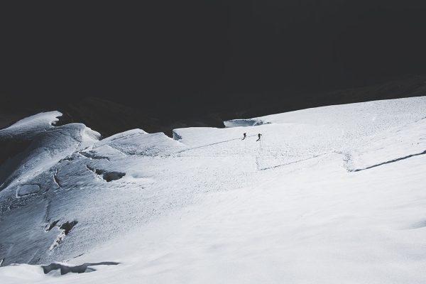 Aufstieg Ortler. Südtirol | Pauli Trenkwalder, Berge & Psychologie