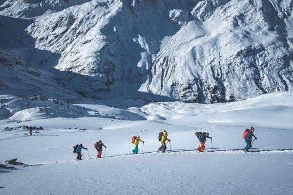 Aufstieg. Skitour am Arlberg | Pauli Trenkwalder, Berge & Psychologie