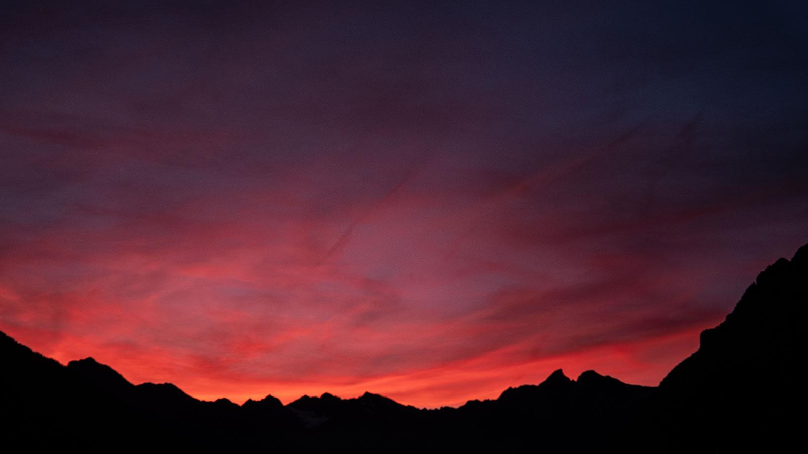 Bergsilhouette. Südtirol | Pauli Trenkwalder, Berge & Psychologie
