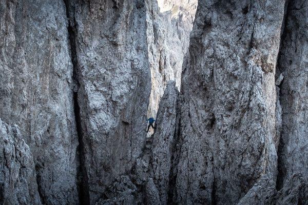 Druck. Klettern in den Dolomiten | Pauli Trenkwalder, Berge & Psychologie