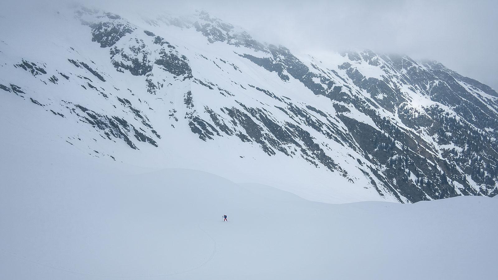 Durchschreiten. Skitour in Südtirol | Pauli Trenkwalder, Berge & Psychologie