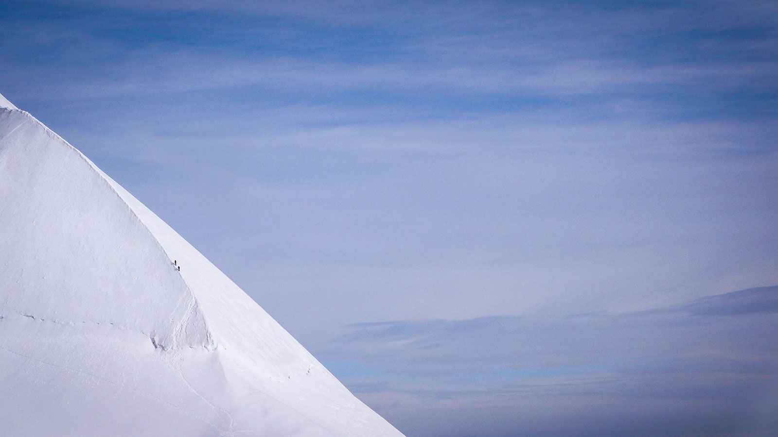 Eisschneide. Bergsteigen Lyskamm | Pauli Trenkwalder, Berge & Psychologie