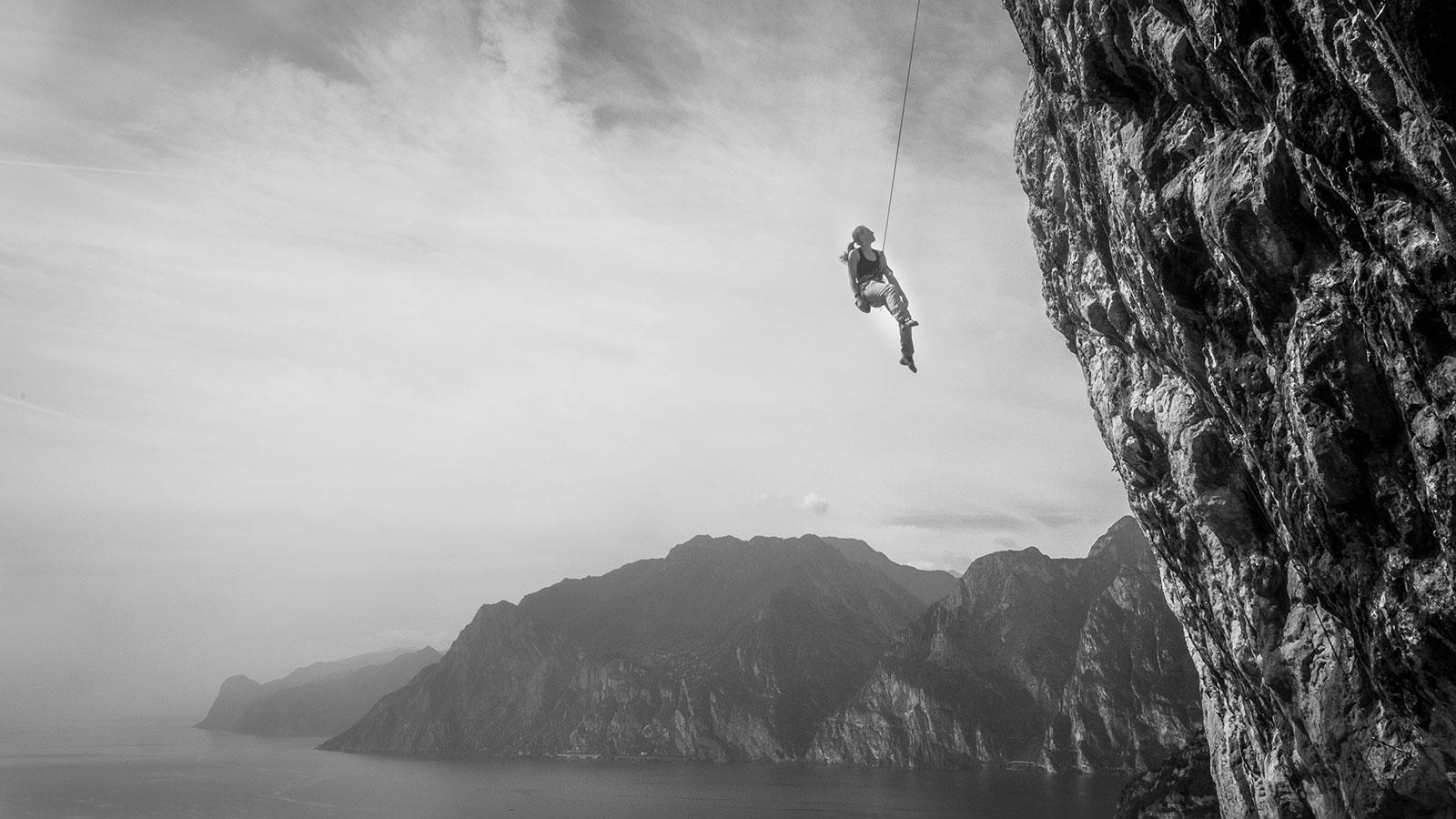 Entspannen. Klettern am Gardasee | Pauli Trenkwalder, Berge & Psychologie