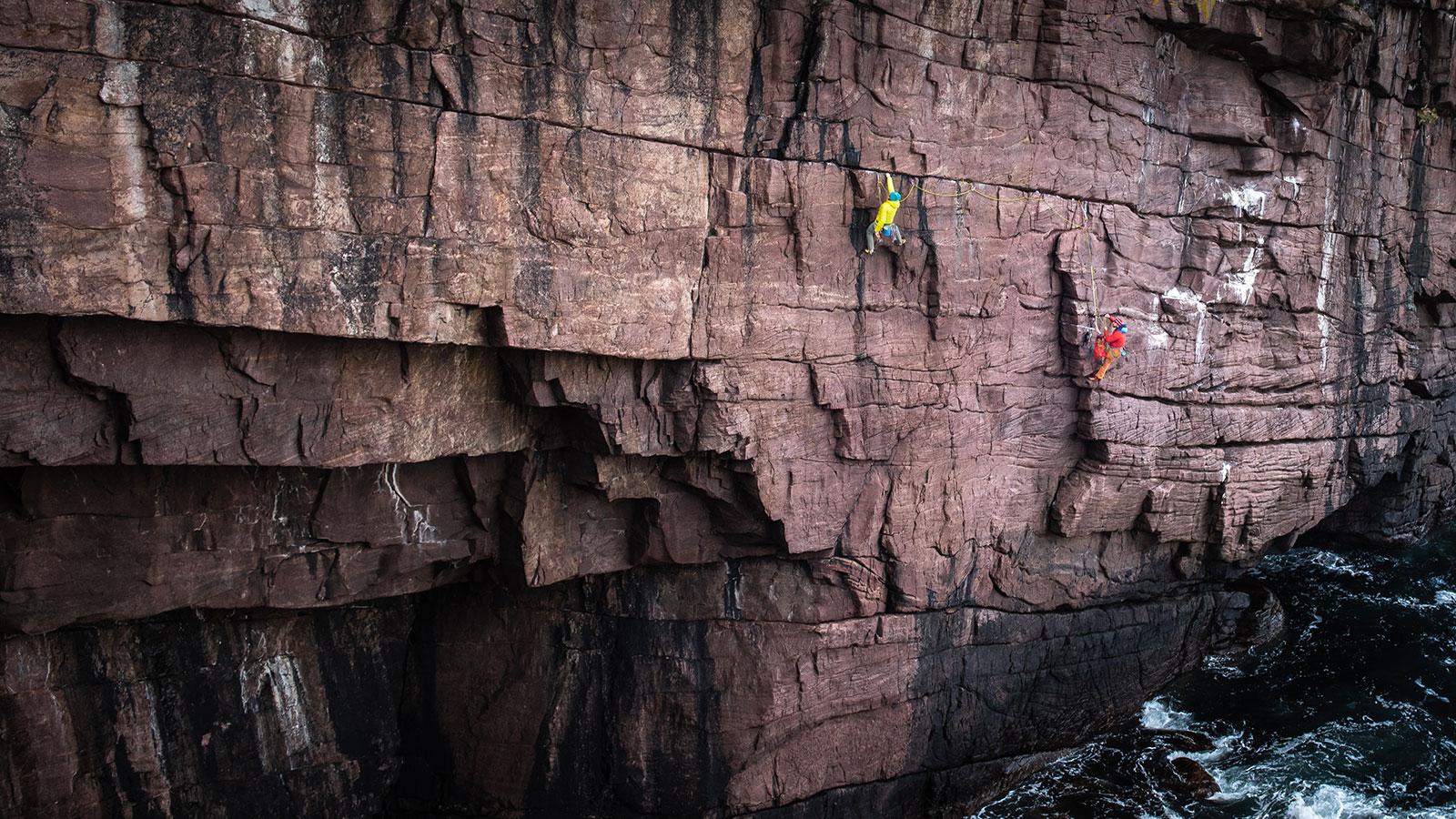 Festhalten. Klettern in Schottland | Pauli Trenkwalder, Berge & Psychologie