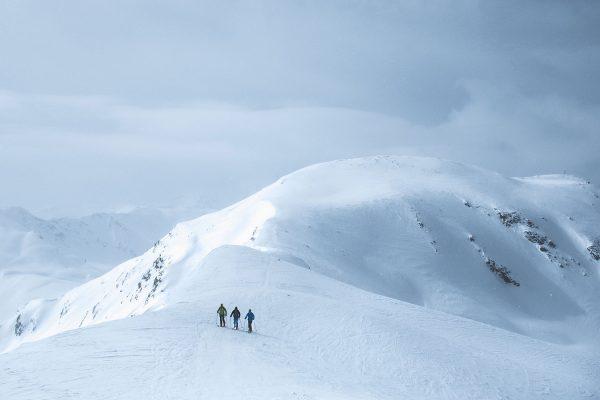 Freunde. Skitour in Südtirol | Pauli Trenkwalder, Berge & Psychologie