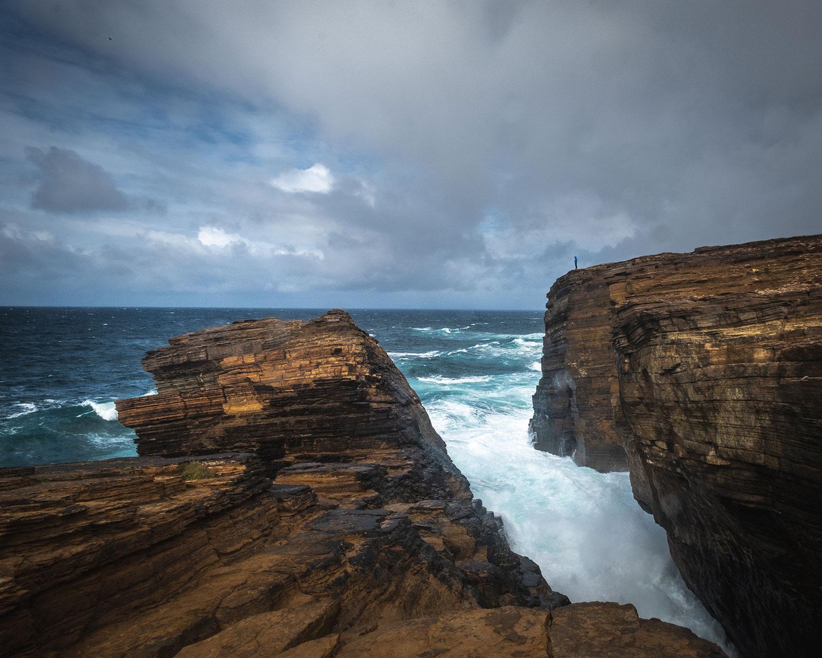 Meeresgewalt. Schottland | Pauli Trenkwalder, Berge & Psychologie