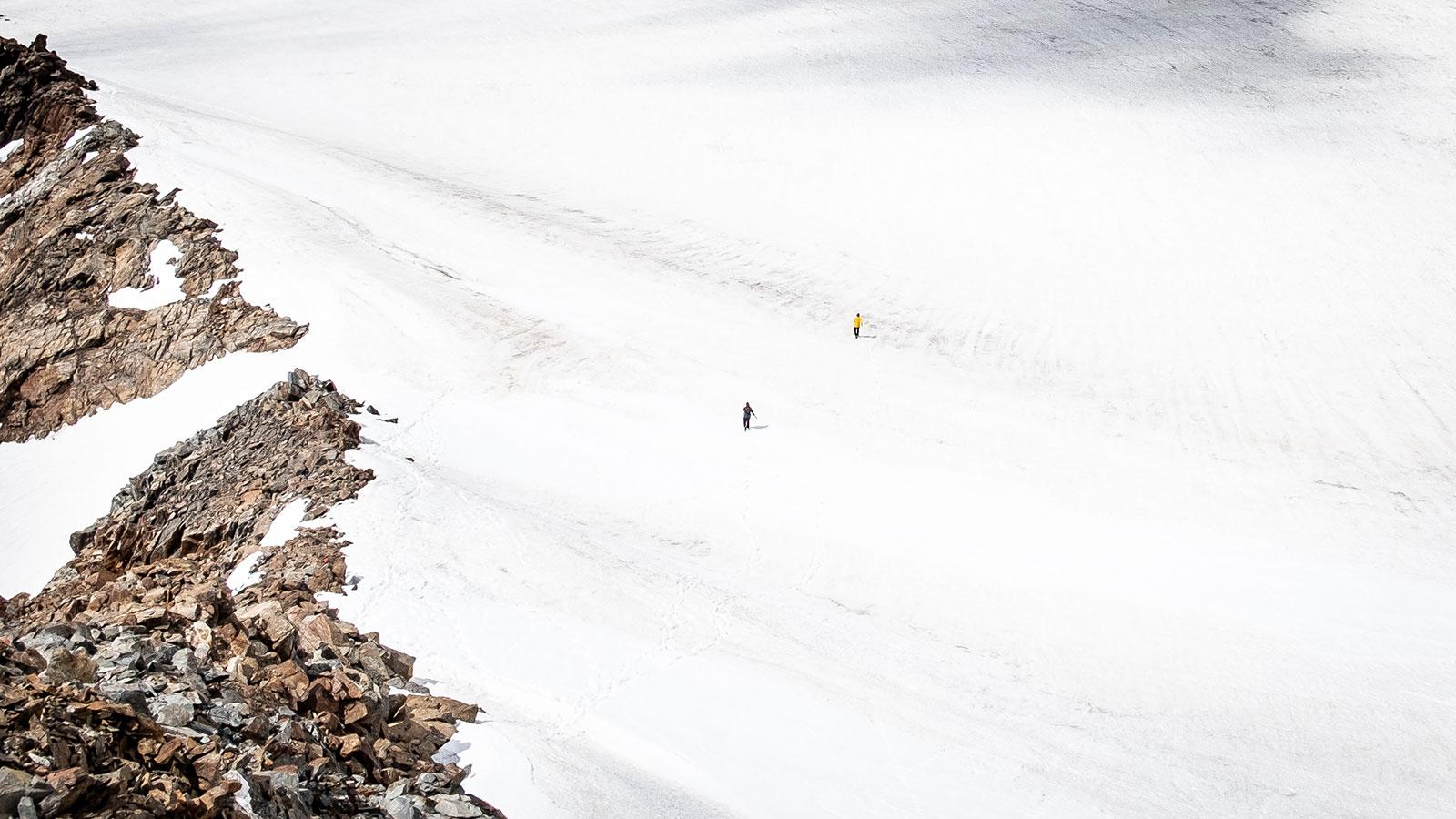 Gletscherberührung. Südtirol | Pauli Trenkwalder, Berge & Psychologie