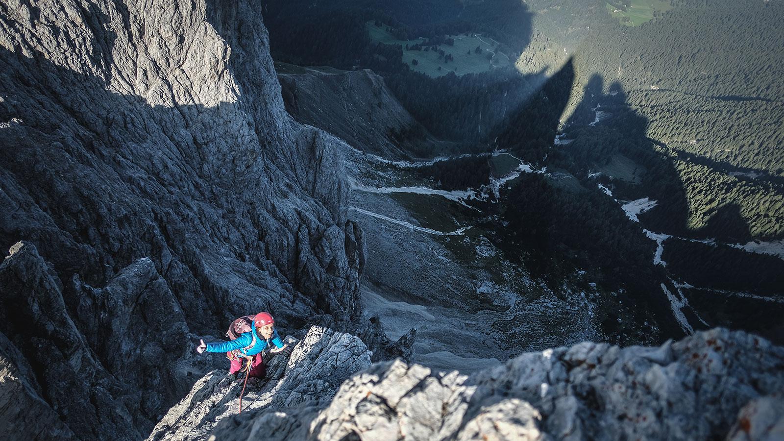 Glücklich. Delago, Dolomiten | Pauli Trenkwalder, Berge & Psychologie
