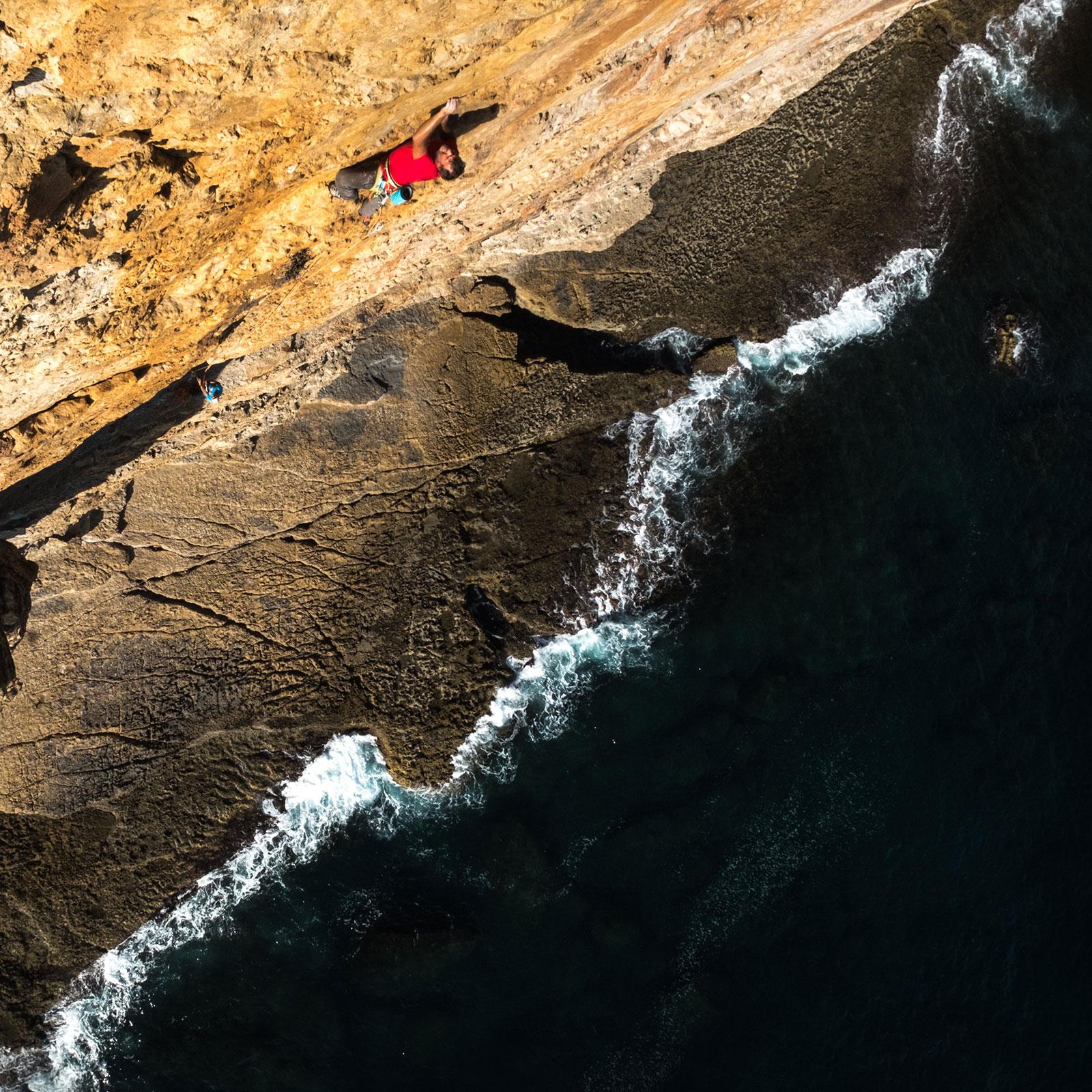 Klettern über dem Meer | Pauli Trenkwalder, Berge & Psychologie
