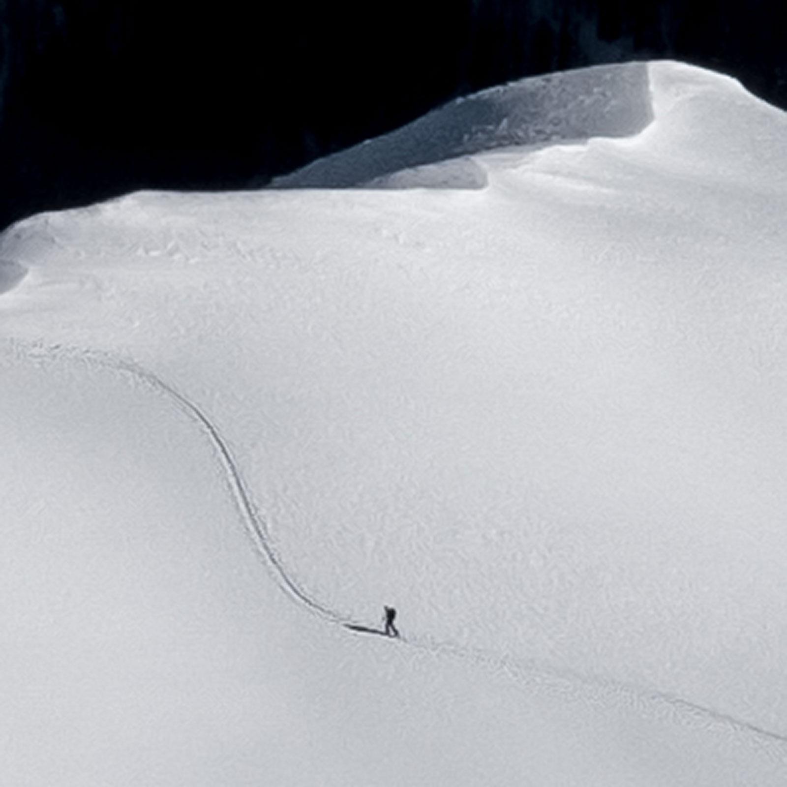Kurve. Skitour | Pauli Trenkwalder, Berge & Psychologie