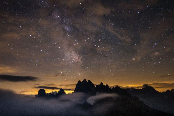 Sternennacht. Dolomiten | Pauli Trenkwalder, Berge & Psychologie