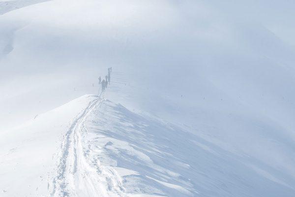 Nebel. Skitour in Südtirol | Pauli Trenkwalder, Berge & Psychologie