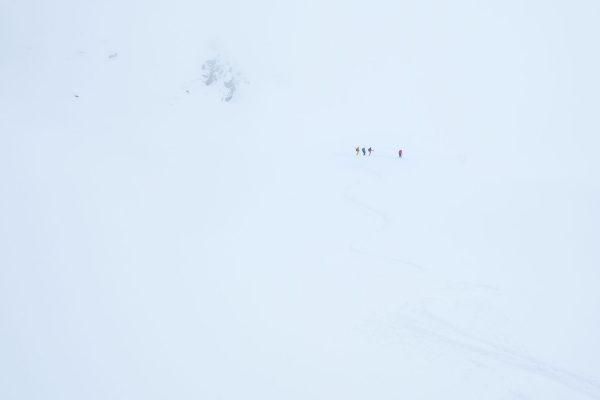Nie allein. Skitour in Südtirol | Pauli Trenkwalder, Berge & Psychologie
