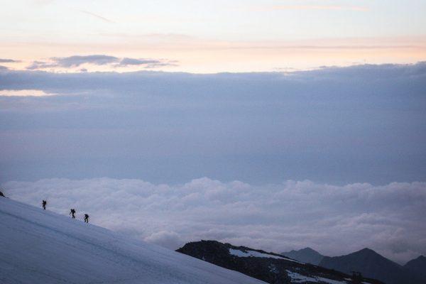 Seitschaft. Monte Rosa | Pauli Trenkwalder, Berge & Psychologie