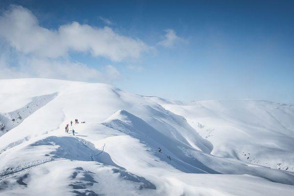 Skidurchquerung. Alpen | Pauli Trenkwalder, Berge & Psychologie