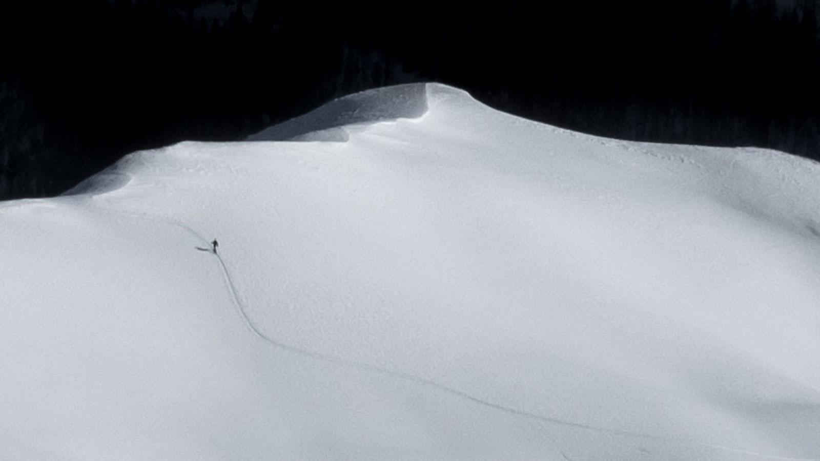 Solo. Skitour | Pauli Trenkwalder, Berge & Psychologie