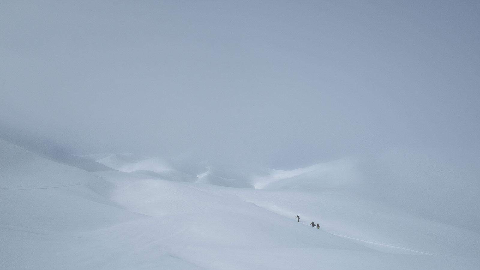 Spuren. Skitour in Südtirol | Pauli Trenkwalder, Berge & Psychologie
