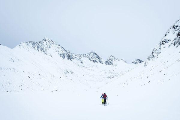 Unterwegs. Skitour im Ötztal | Pauli Trenkwalder, Berge & Psychologie