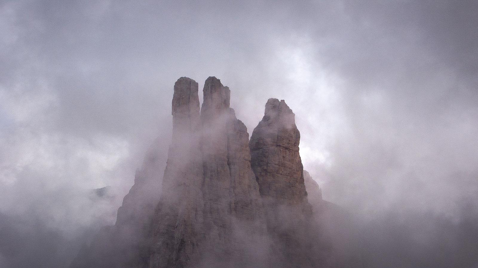 Vajolet-Türme. Dolomiten | Pauli Trenkwalder, Berge & Psychologie