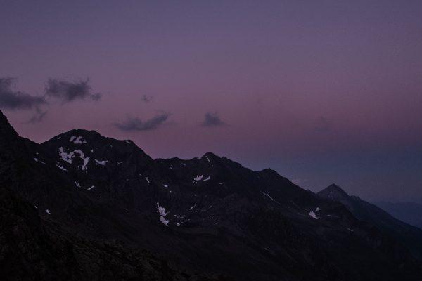 Violett. Berge in Südtirol | Pauli Trenkwalder, Berge & Psychologie