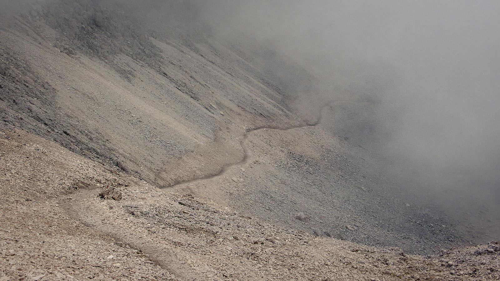 Ungewisser Weg. Dolomiten | Pauli Trenkwalder, Berge & Psychologie