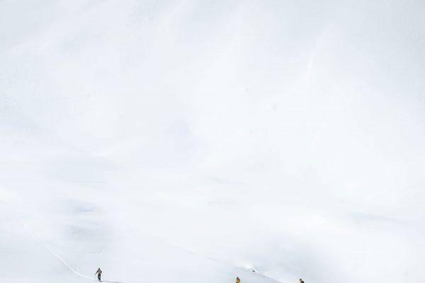 Weiß. Skitour in Südtirol | Pauli Trenkwalder, Berge & Psychologie