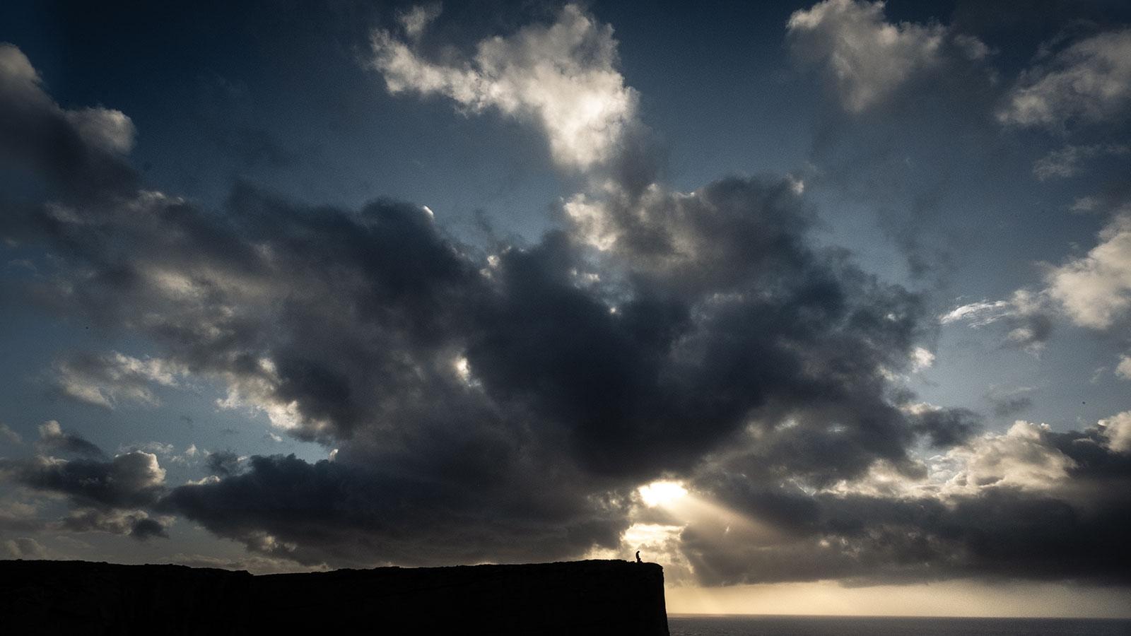 Wolkenloch, Sonnenstrahlen. Schottland | Pauli Trenkwalder, Berge & Psychologie