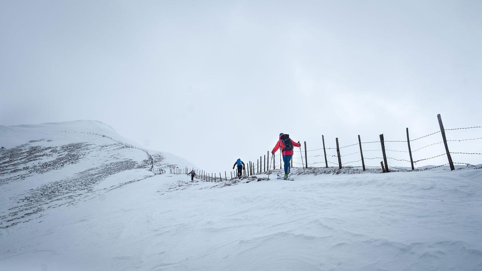 Zaun. Skitour in Südtirol | Pauli Trenkwalder, Berge & Psychologie