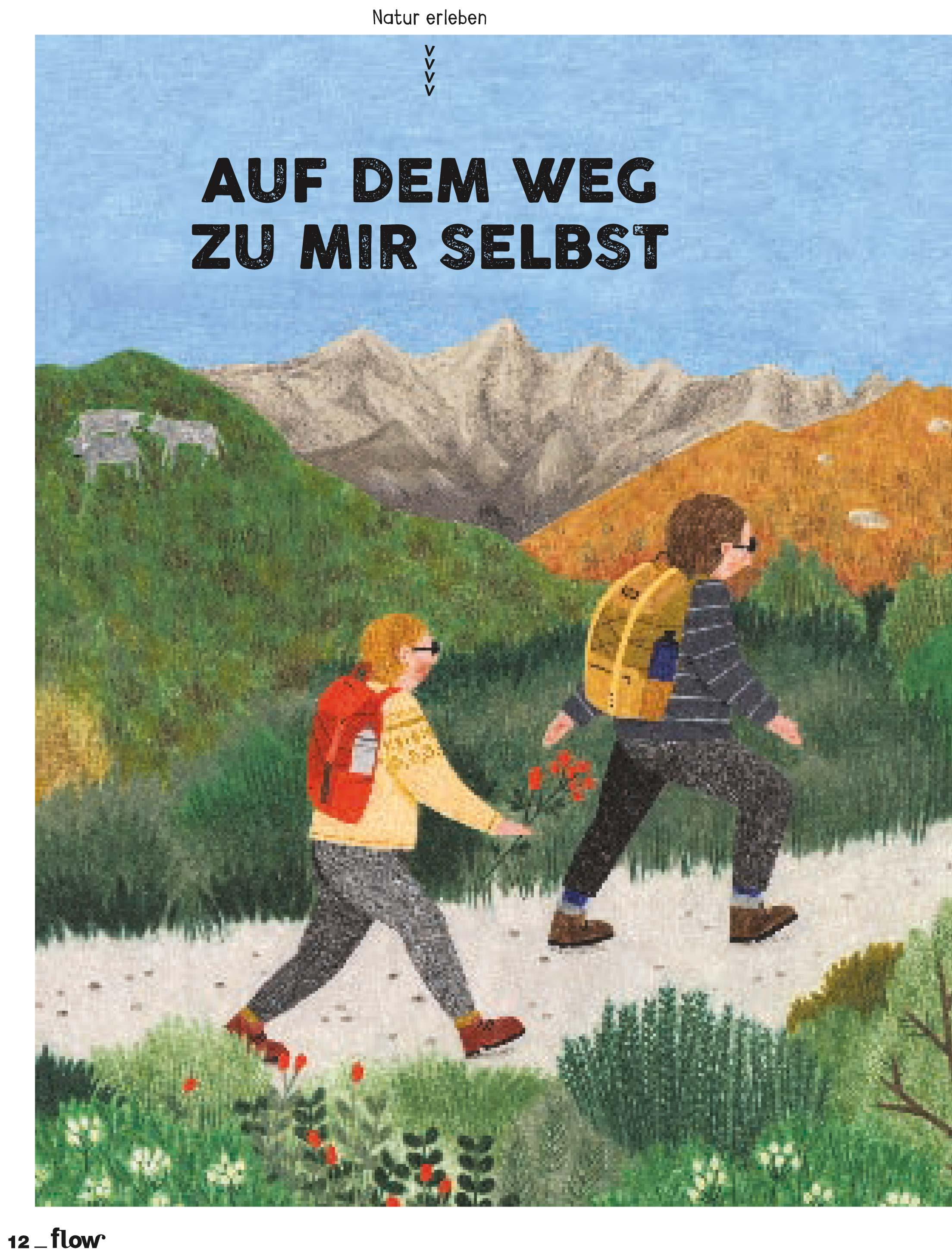 Auf dem Weg zu mir selbst. Flow #40, Südtirol Extra 4/2019 | Pauli Trenkwalder, Berge & Psychologie